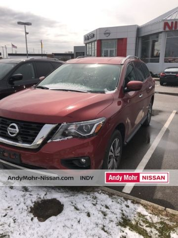 Certified Used Nissan Pathfinder SV